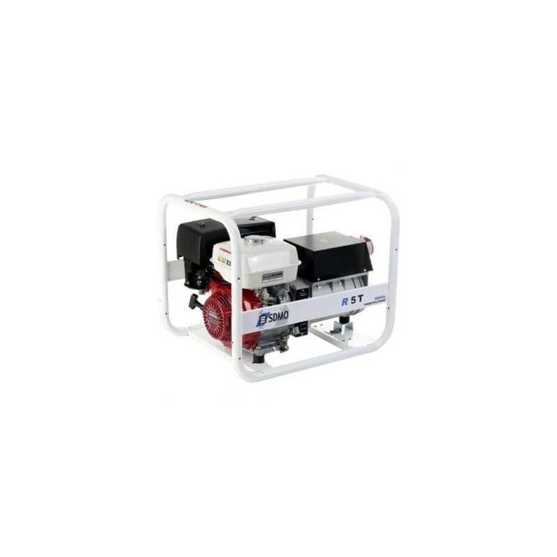 Elektros generatorius SDMO R5T-C benzininis