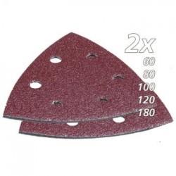 Trikampio šlifavimo popieriaus rinkinys (10vnt.) MAKITA