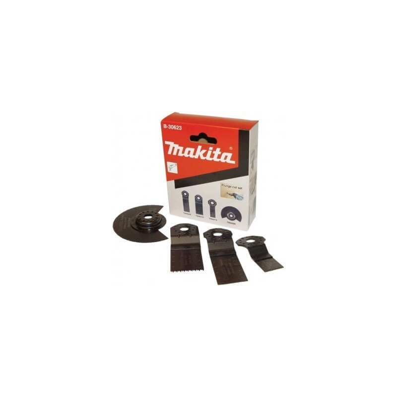 Priedų komplektas MAKITA MultiTool B-30623