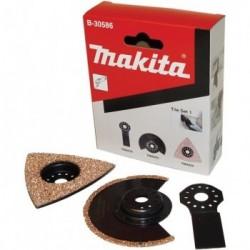 Priedų komplektas MAKITA MultiTool B-30586