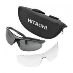 Apsauginiai akiniai su dėklu ir papildomu stiklu HITACHI