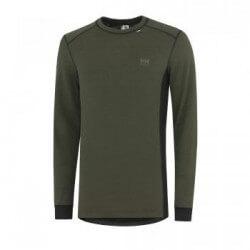 Marškinėliai Lifa-Warm ROSKILDE CREWNECK HELLY HANSEN, žali