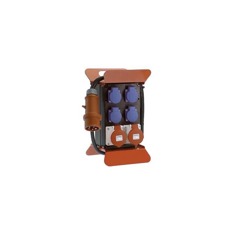 Elektros paskirstymo dėžė su srovės nuotėkio rėle AS-SCHWABE