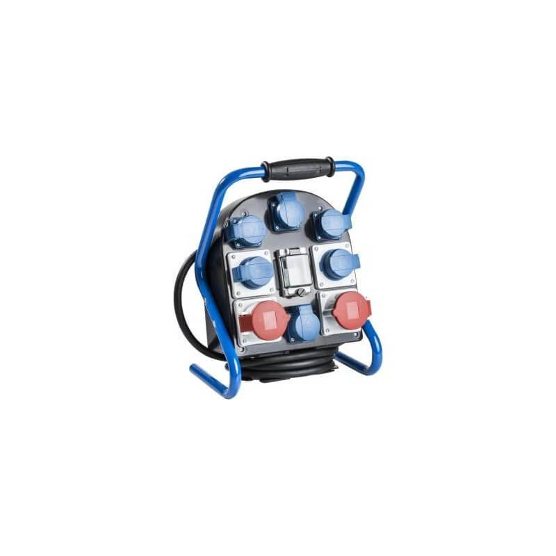 Mobili el. paskirstymo dėžė 2x400V/16A, 6x230V/16A AS-SCHWABE