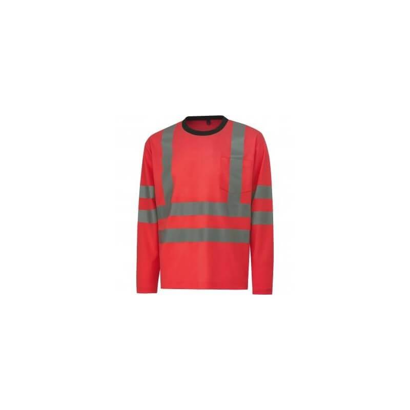 Marškinėliai ilgomis rankovėmis HELLY HANSEN Kenilworth, raudoni