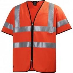 Liemenė HELLY HANSEN Hivis Short Sleeve, oranžinė