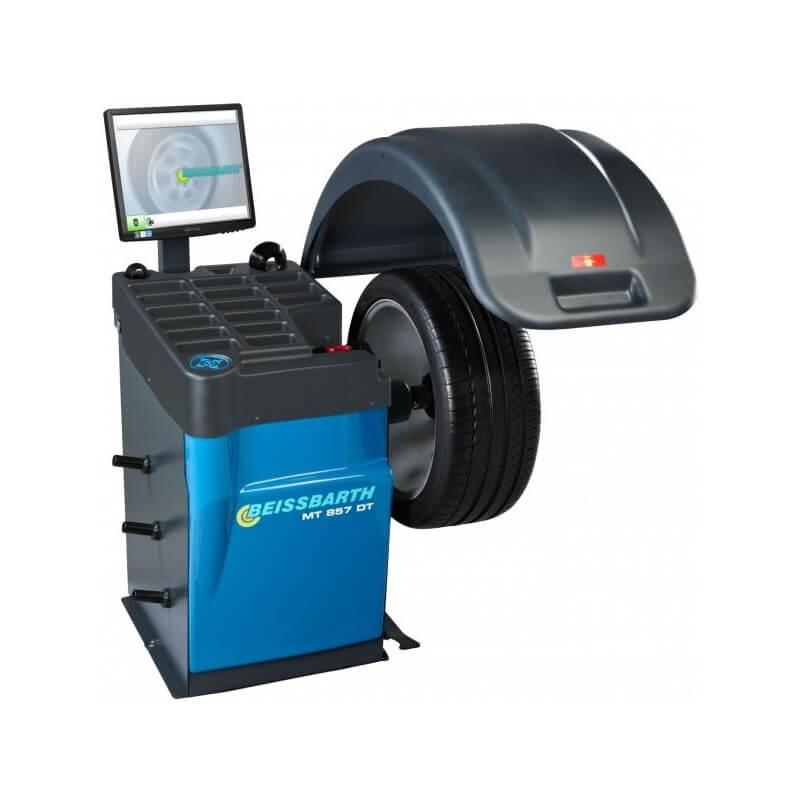 Elektroninės ratų balansavimo staklės BEISSBARTH MT 857 DT