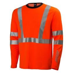 Marškinėliai Esbjerg HELLY HANSEN, oranžiniai