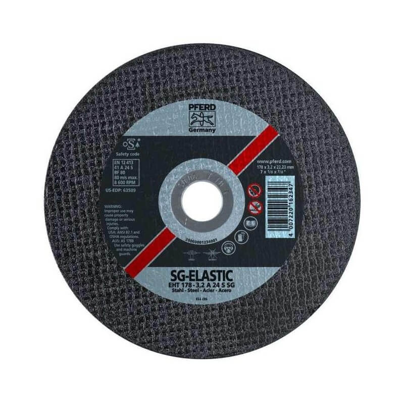 Metalo pjovimo diskas EHT178-3.2 A24 S SG PFERD