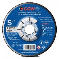 Šlifavimo diskas 125x3.2x22.23 Razor CGW