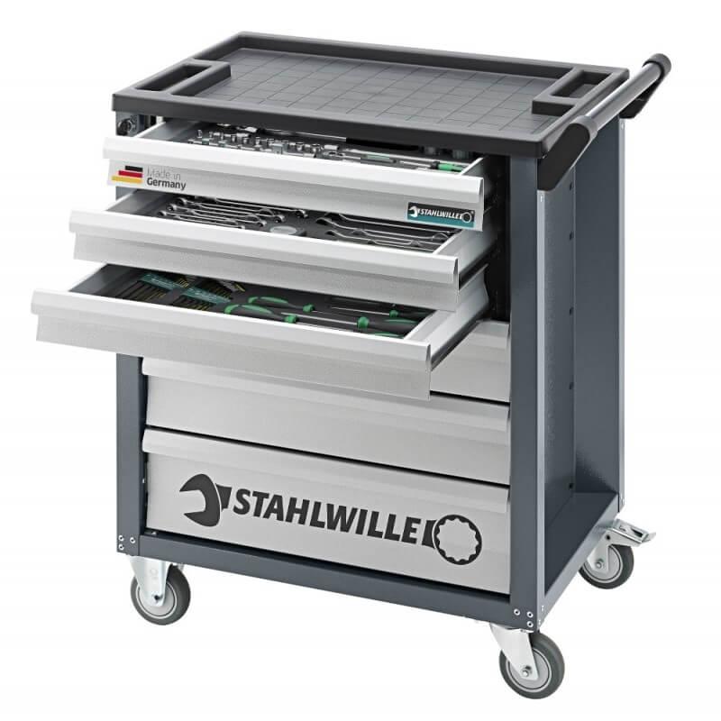 90/6A vežimėlis su įrankiais (131 dalies) STAHLWILLE