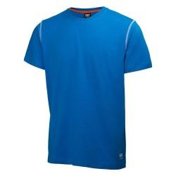 Marškinėliai Oxford T-Shirt HELLY HANSEN, mėlyni