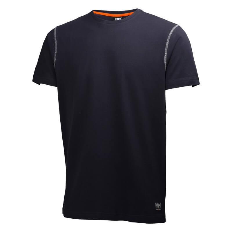 Marškinėliai Oxford T-Shirt HELLY HANSEN, tamsiai mėlyni