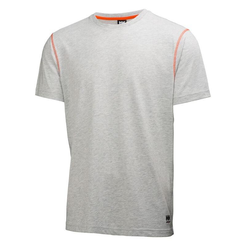 Marškinėliai Oxford T-Shirt HELLY HANSEN, pilki