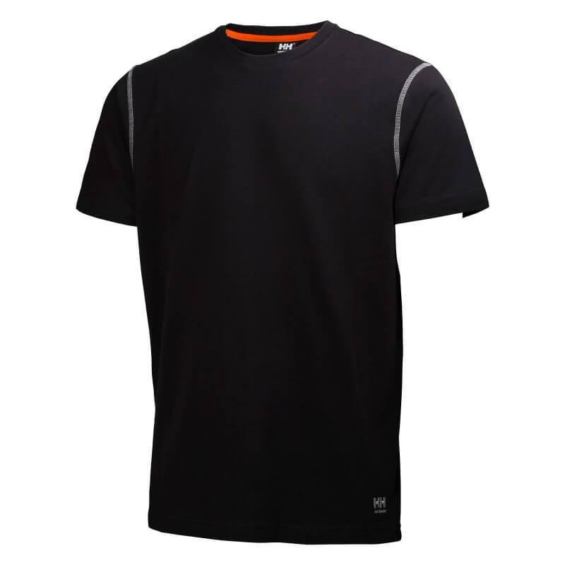 Marškinėliai Oxford T-Shirt HELLY HANSEN, juodi