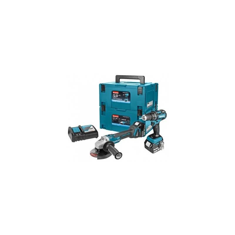 Akumuliatorinių įrankių rinkinys lagamine MAKITA DLX2152TJ1