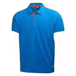 Marškinėliai Oxford Polo HELLY HANSEN, mėlyni