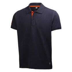 Marškinėliai Oxford Polo HELLY HANSEN, tamsiai mėlyni
