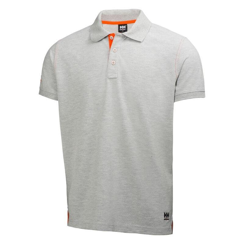 Marškinėliai Oxford Polo HELLY HANSEN, pilki