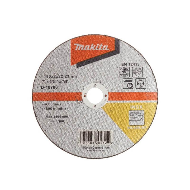 Pjovimo diskas metalui 180x2 MAKITA WA36R RST