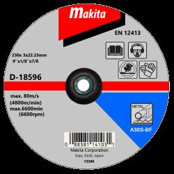 Pjovimo diskas metalui 230x3 MAKITA A30S