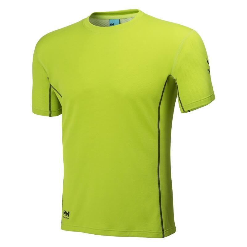 Marškinėliai Lifa-Flow Magni HELLY HANSEN, žali