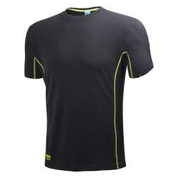 Marškinėliai Lifa-Flow Magni HELLY HANSEN, juodi