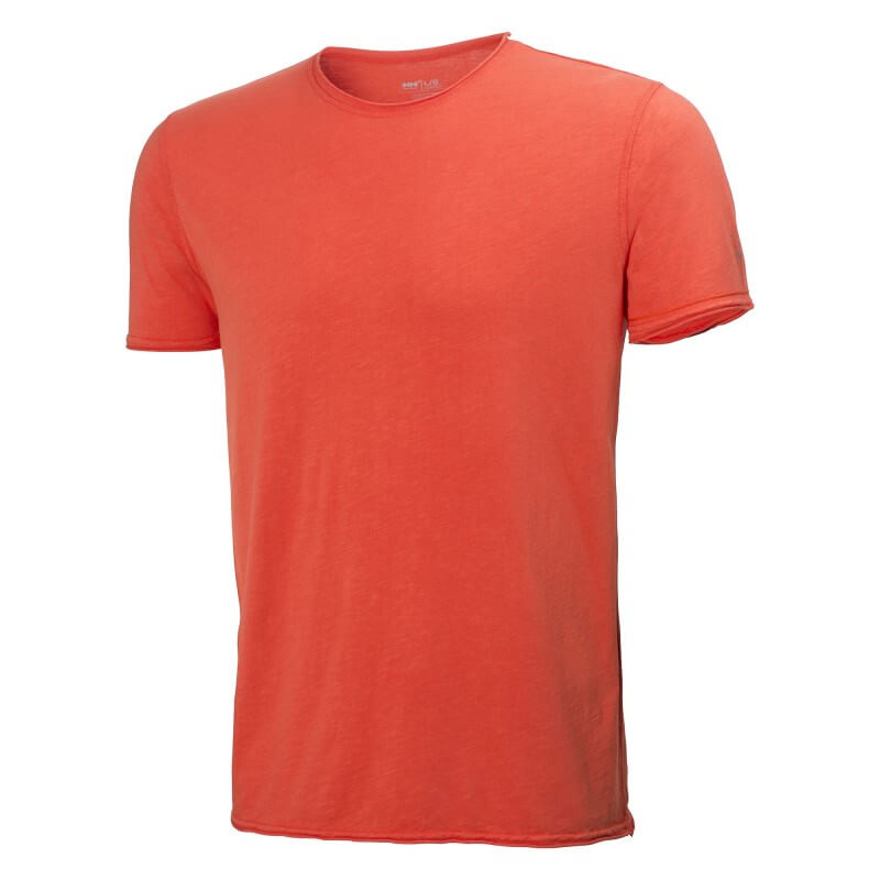 Marškinėliai Mjolnir HELLY HANSEN, oranžiniai
