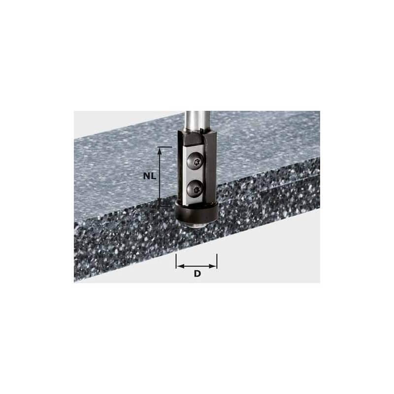 Freza su keičiamais peiliais HW S12 D21/30WM, kotelis 12mm