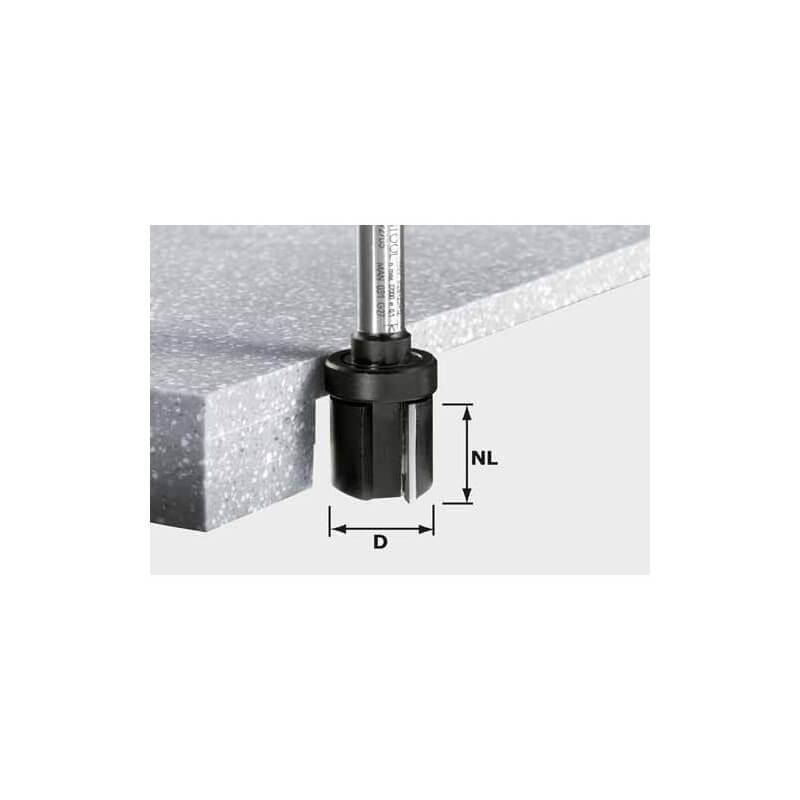Freza briaunoms FESTOOL HW D28/25 ss S12, kotelis 12mm