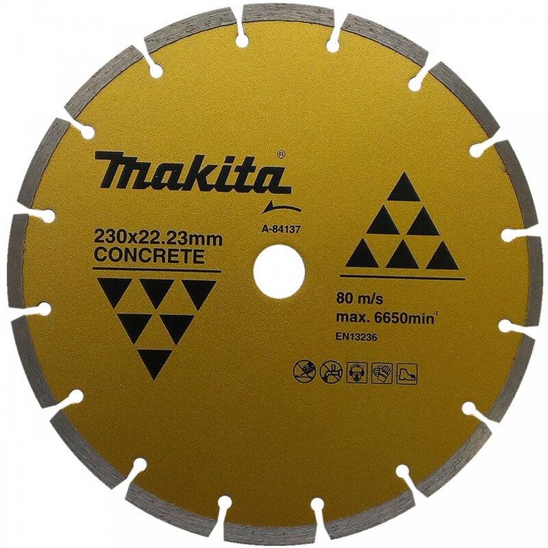 Segmentinis deimantinis diskas 230mm MAKITA