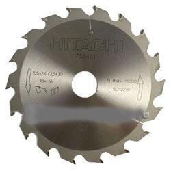 Medžio pjovimo diskas 165 x 30/20, Z18 HITACHI