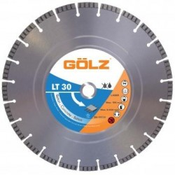 Deimantinis diskas betonui Ø350mm GOLZ LT30