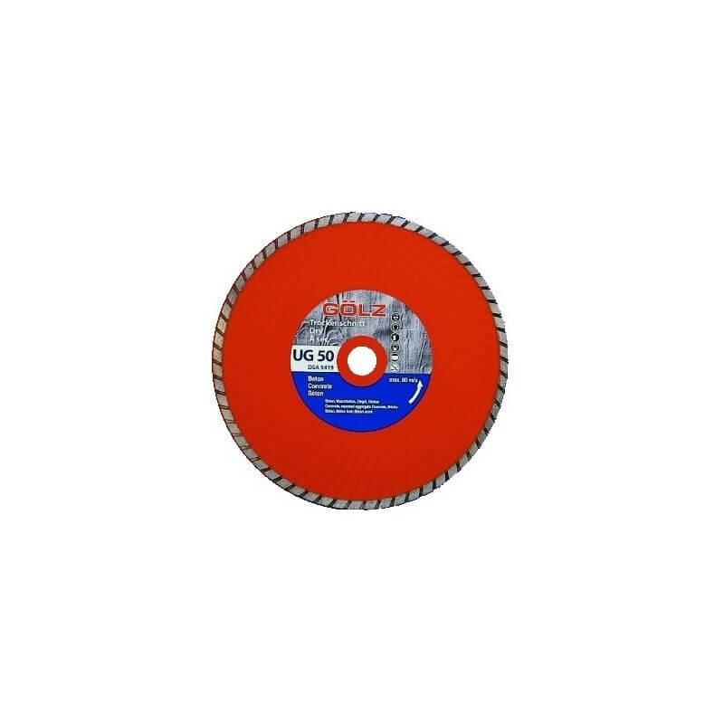 Deimantinis diskas akmeniui GOLZ UG50