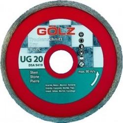 Deimantinis diskas keramikai GOLZ UG20