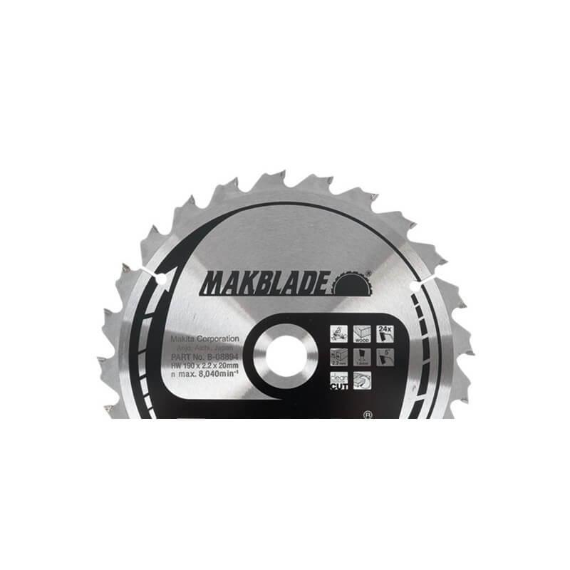 Pjovimo diskas 305x30x2,3mm 60T 5° MAKITA