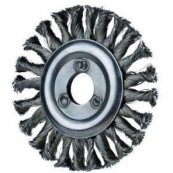 Metalinis šepetys 125x12x22mm PFERD RBG INOX 0,35