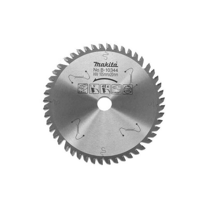 Pjovimo diskas 165x20x2,4mm 48T MAKITA