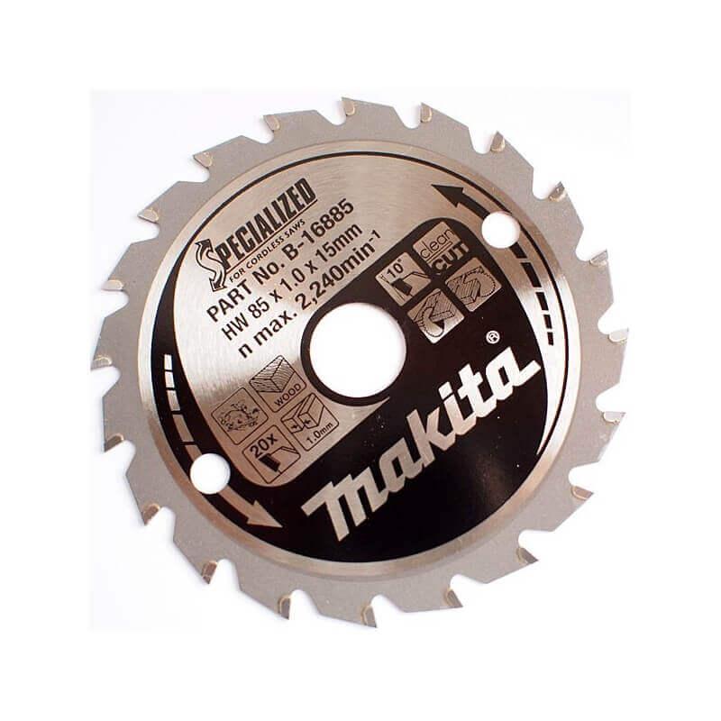 Pjovimo diskas medžiui 85x15mm 20T MAKITA