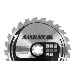 Pjovimo diskas medžiui 190x20x2,2mm 24T Standart MAKITA