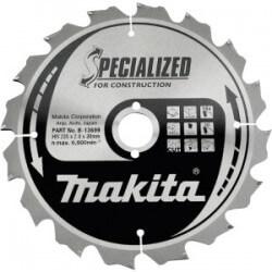 Pjovimo diskas 235x30x2,8mm 16T 20° MAKITA