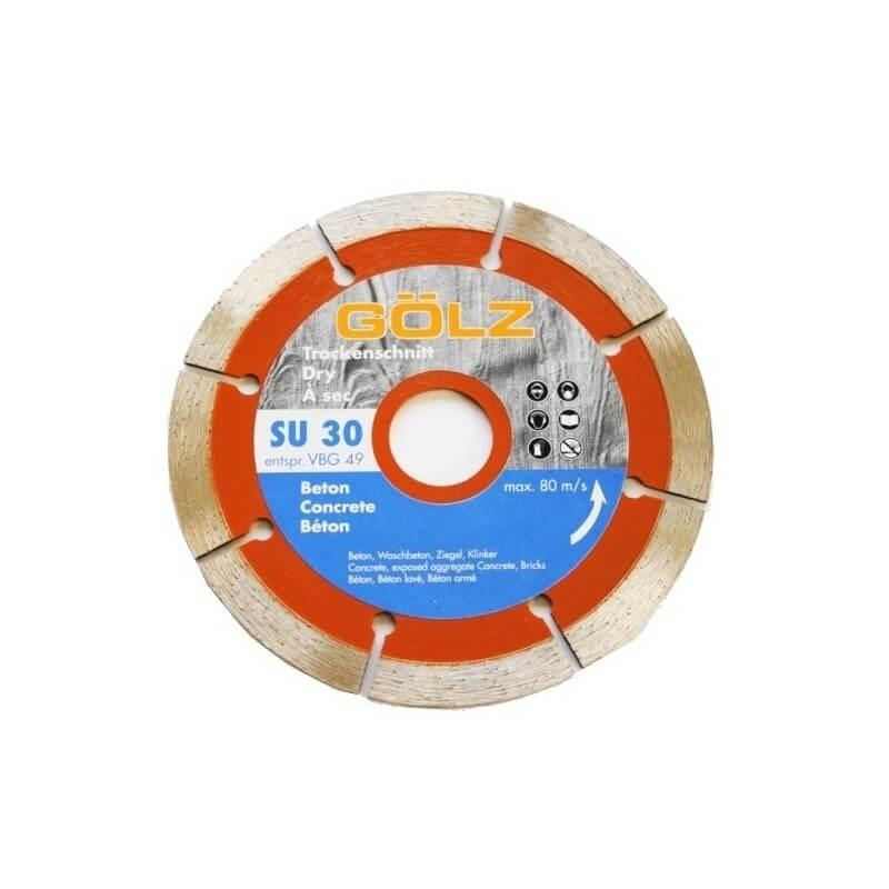 Deimantinis diskas betonui SU30 Ø115 GOLZ