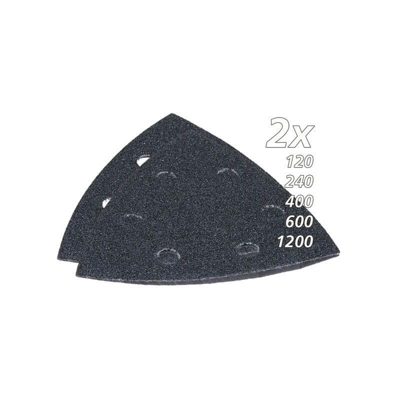 Trikampio šlifavimo popieriaus rink. akmeniui (10vnt.) MAKITA