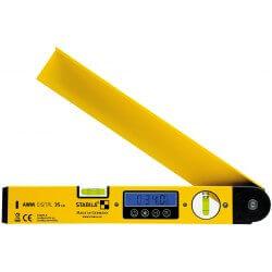 Elektroninis kampumatis su gulsčiuku STABILA AWM Digital 35cm