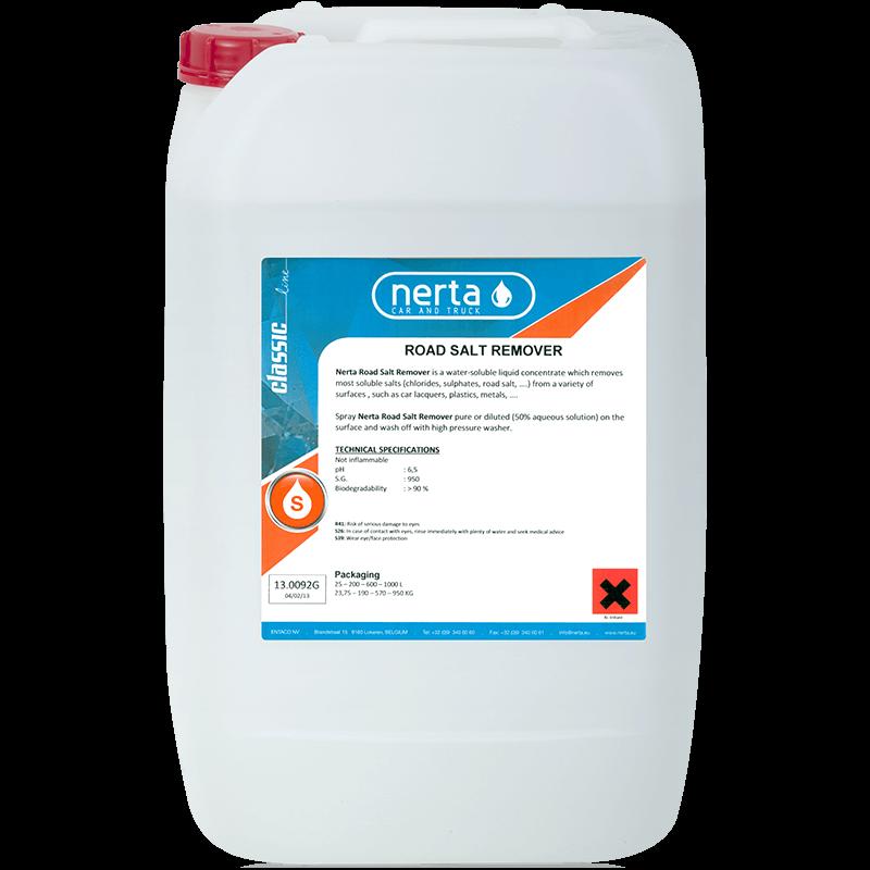 Kelių druskų plovimo priemonė NERTA Road Salt Remover, 5 L