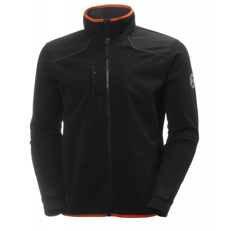 Vėjui nepralaidus džemperis HELLY HANSEN Chelsea Wind Fleece, juodas