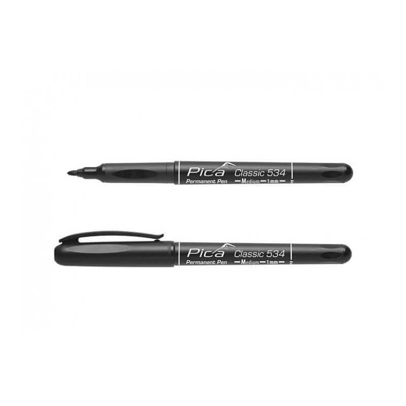 Permanentinis rašiklis PICA Classic 534, 1mm juodas