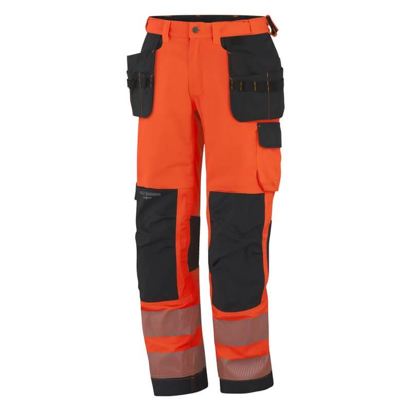 Kelnės HELLY HANSEN York Constr, oranžinės