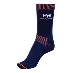 Kojinės HELLY HANSEN Vaasa, oranžinės/juodos