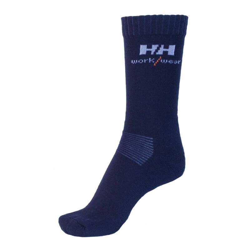 Kojinės HELLY HANSEN Vaasa, juodos/pilkos